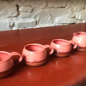 Hand thrown expresso mug