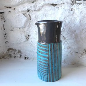 Churn Jug Blue by Maria Connolly