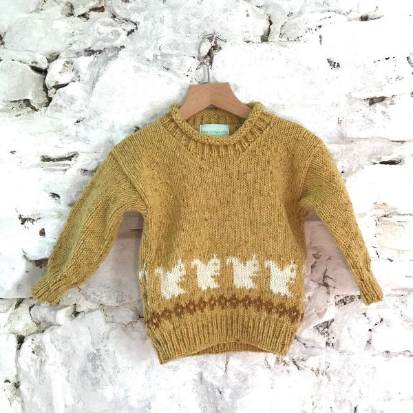 Children's Jumper Handmade Pure Wool