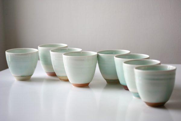 Porcelain Beakers Irish Ceramics
