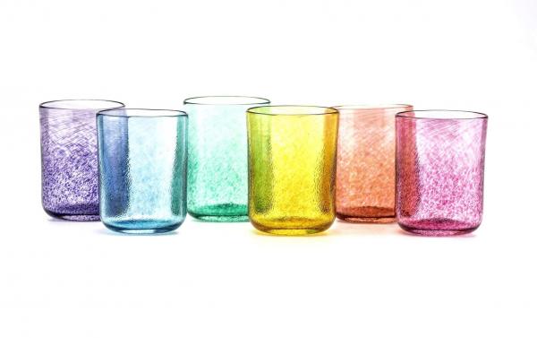 Irish Blown Glass Beakers