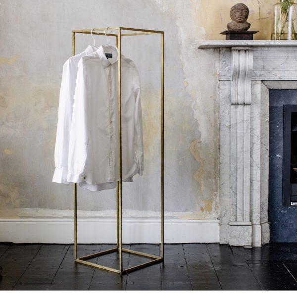 Brass Clothes Rail
