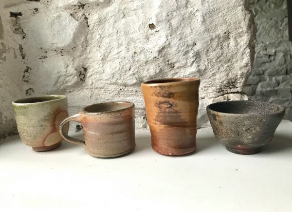 Wood fired tableware