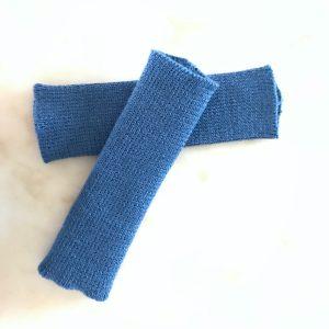 Wrist Warmers Mid Blue